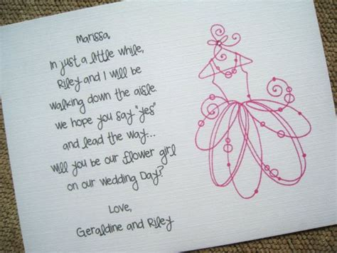 Flower Poem Wedding by Will You Be My Flower Card Poem Ii By