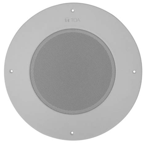 Speaker Toa Ceiling pc 580ru series ceiling mount mass notification speaker