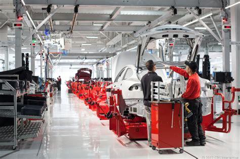 Tesla Motors New Factory Sneak Peek At In The Tesla Motors Factory