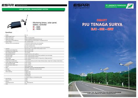 Smart Pju smart pju tenaga surya hp 081803215590 wa distributor lu all in one smart pju hp