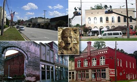 walking dead georgia town up for sale on ebay today com walking dead town of grantville georgia up for sale on