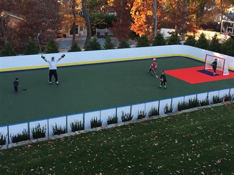backyard hockey rink learn more about hockey rink boards d1 backyard rinks