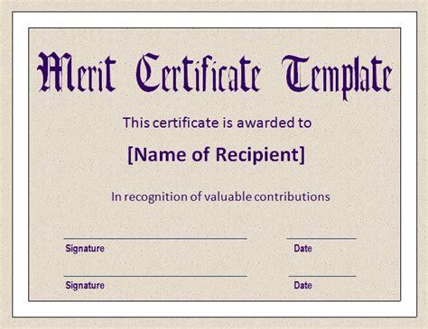 template for printing merit badge cards merit certificate template pdf printable