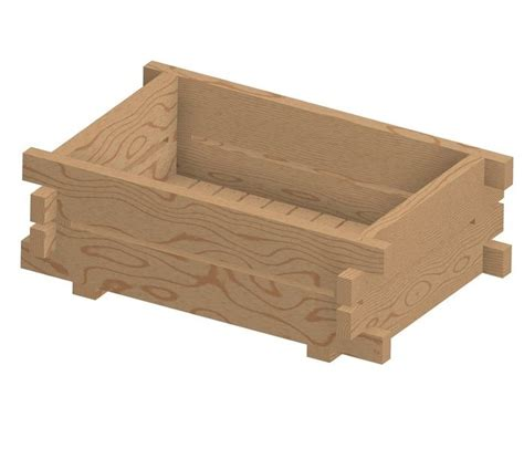 Wood Planter Box Plans Free by Wooden Planter Box Plans Free Woodworking Projects