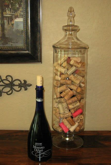 wine cork home decor simple wine cork display trick vase filler quot diy home