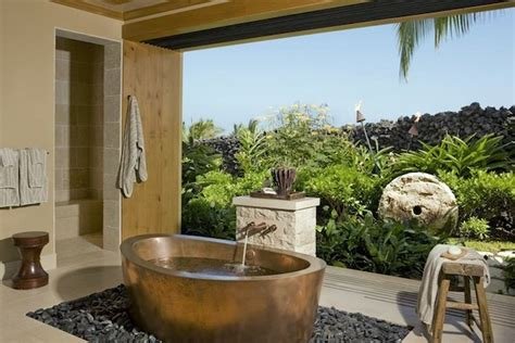 outdoor bathtub ideas outdoor bathroom ideas tubs showers modern home