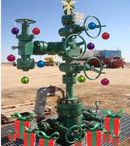 drilling christmas tree oilfield memes home
