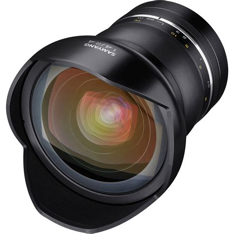Samyang For Canon Xp 14mm F 2 4 samyang xp 14mm f 2 4 lens for canon ef syxp14 c b h photo