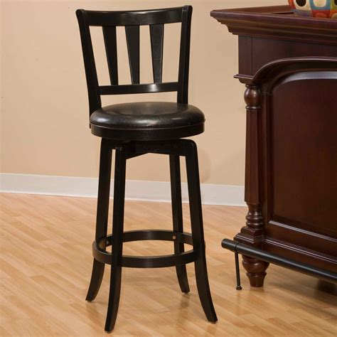 Wood Swivel Bar Stools by Wood Swivel Bar Stools Black Home Ideas Collection