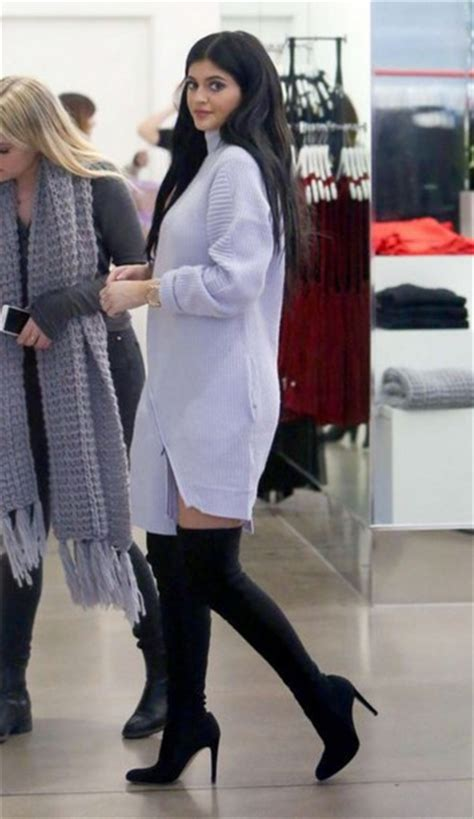 Overall Maxi Skirt Velvet Series 8099 Dress Sweater Dress Jenner Boots Knitted Dress