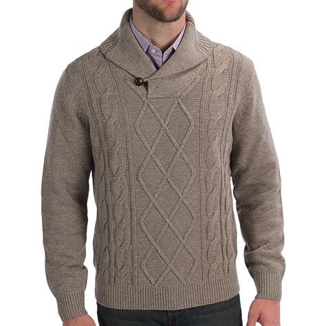 cable knit sweater mens toscano cable knit sweater for save 64