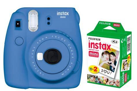 Fujifilm Kamera Instax Mini 9 Blue fujifilm instax mini 9 cobalt blue instant