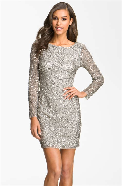 silver sequin dress picture collection dressed up