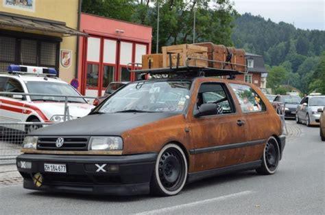 Rat Rod Volkswagen by Rat Rod Volkswagen Golf Mkiii Vw