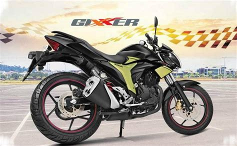 suzuki gixxer rear disc variant launched  rs