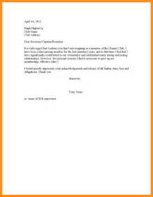 Parts Of Resignation Letter by How To Write A Letter Of Resignation From Club Cover Letter Templates