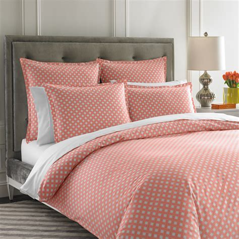 jonathan adler bedding mayfair coral duvet cover by jonathan adler