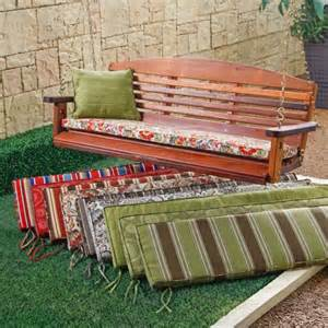 coral coast atrium 53 x 14 in outdoor cushion for porch swings and gliders at hayneedle