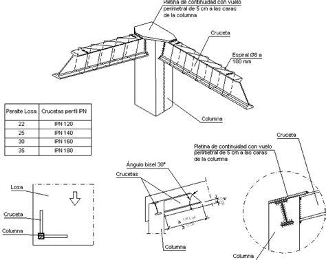 nudo wall base detalles constructivos cype fil752 detalles de columnas