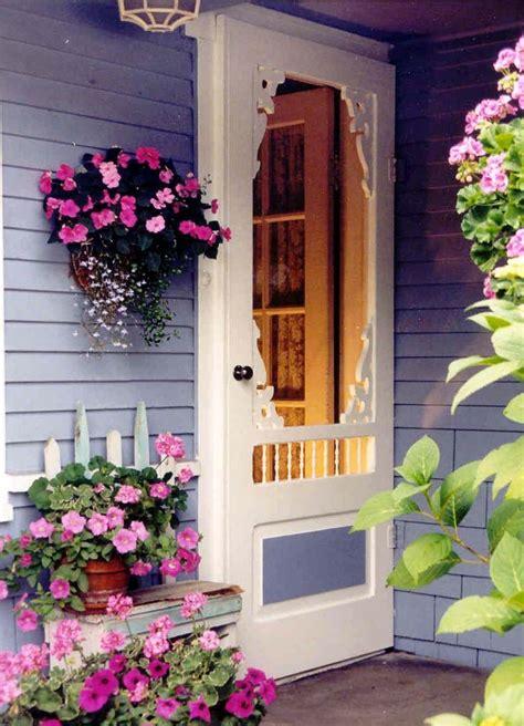 cottage screen doors screen door bayview model www