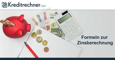 sparda bank kleinkredit formeln zur zinsberechnung