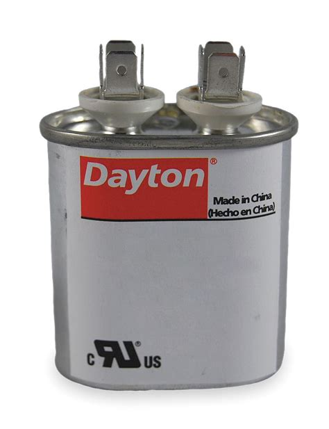 run capacitor ratings dayton oval motor run capacitor 4 microfarad rating 370vac voltage 2mdv3 motors