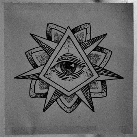 eye tattoo designs tumblr triangle eye tattoo on behance