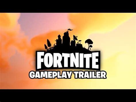 fortnite original trailer fortnite gameplay trailer видео