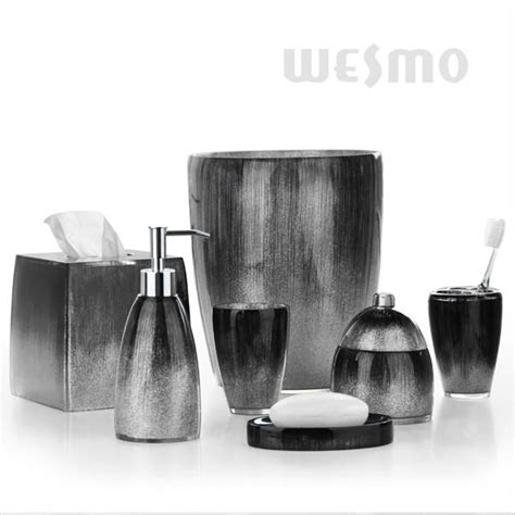 black and gray bathroom accessories black and grey bathroom set 28 images 20 best amazon s