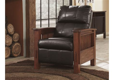 langlois furniture muskegon mi santa fe chocolate high leg recliner