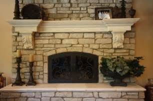 stones for fireplaces cast stone fireplace indoor fireplaces cleveland by