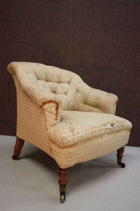 antique upholstered armchairs antique howard sons upholstered armchair antiques atlas