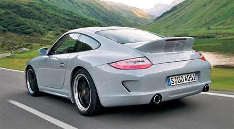porsche ducktail porsche 911 sport wags its ducktail