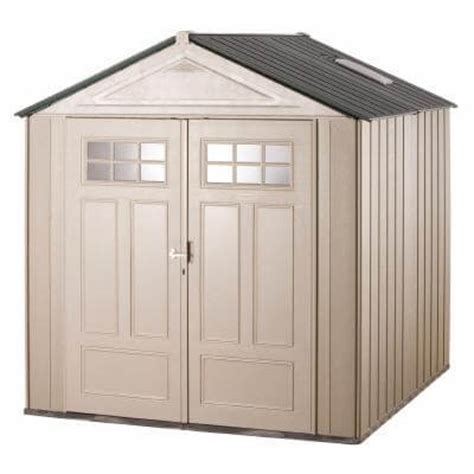Rubber Made Storage Sheds by Ham Rubbermaid Outdoor Storage Shed Shelves