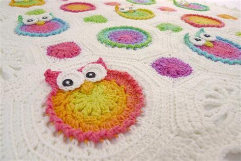 Crochet Owl Pattern Blanket by Free Crochet Patterns For Owl Blankets Dancox For