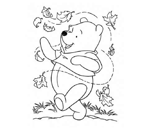 pumpkins and fall coloring pages pooh bear pumpkins best