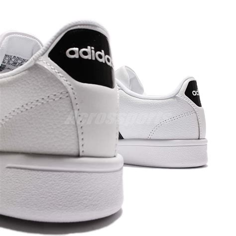 Adidas Advantage Leather adidas cloudfoam advantage w white black leather