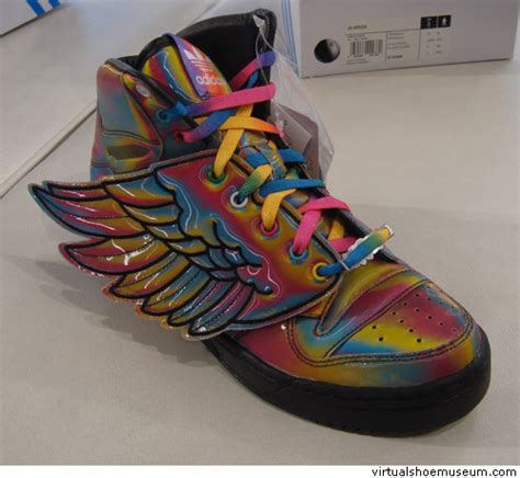 Pilon Adidas jc wings for adidas rainbow virtualshoemuseum