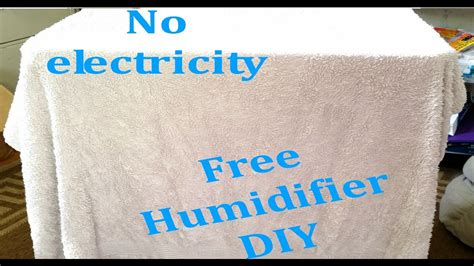 diy humidifier free and easy no electricity