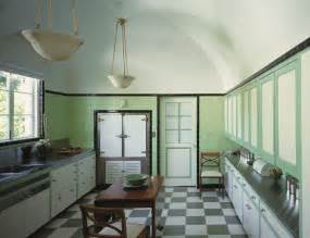 Green Canisters Kitchen by Adorable Throwback 1930s Kitchen Design Ideas With