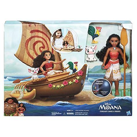 moana boat toys r us disney moana starlight canoe and friends import it all