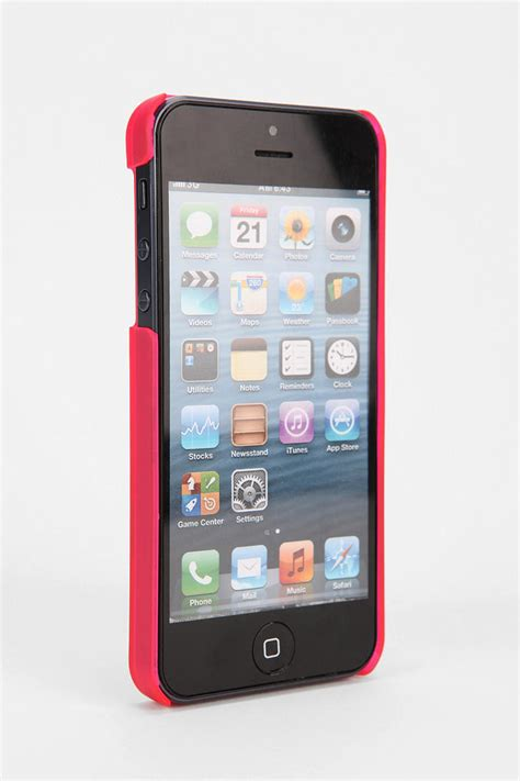 Iphone 55s Wallet outfitters line iphone 55s in pink lyst