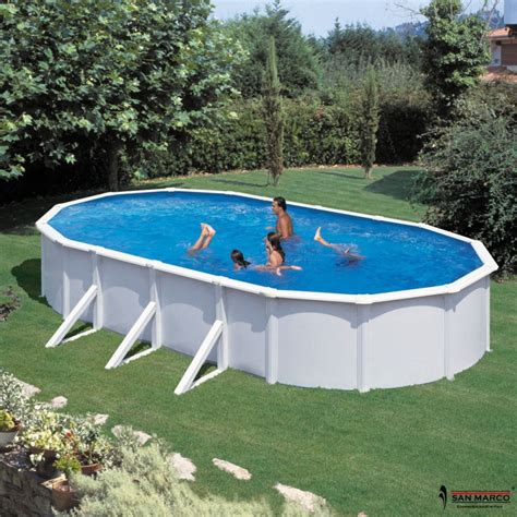 piscina da giardino fuori terra piscina fuori terra gre atlantis 730x375x132 cm san marco