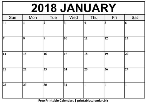 printable calendar with pictures 2018 printable calendar templates printablecalendar biz