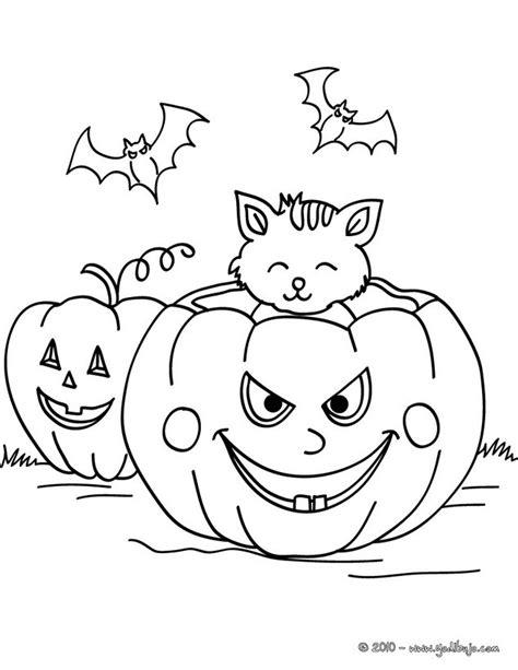 imagenes de unas para jalowin dibujos para colorear un co de calabazas para halloween