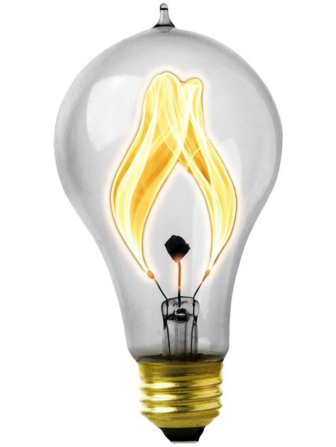 quot balafire flicker quot carbon fillament light bulb 15 watt