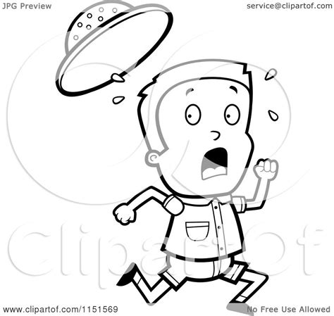 safari person coloring page boyrunning free colouring pages