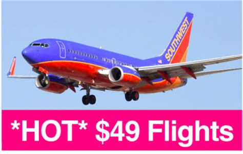 49 southwest airlines one way flights ends 3 28 free stuff finder