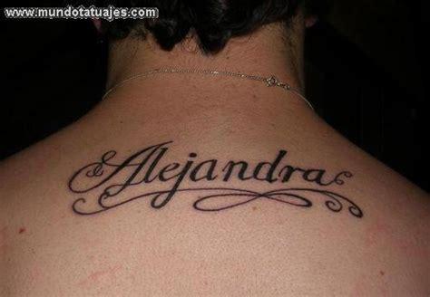 imagenes tatuajes con el nombre alejandro alejandro en letra cursiva imagui