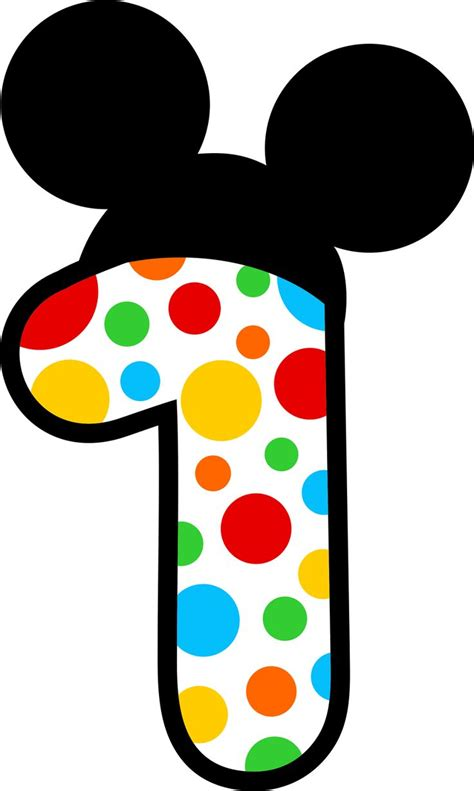 Mickey Top 1 148 best images about clipart mickey minnie mouse dressup and numbers on disney